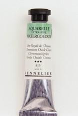 France Sennelier, Aquarelle Watercolor Paint, Chromium Oxide Green, 815,10ml Tube, Series 3