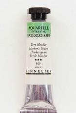 France Sennelier, Aquarelle Watercolor Paint, Hooker's Green, 809,10ml Tube, Series 2