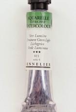 France Sennelier, Aquarelle Watercolor Paint, Permanent Green Light, 811,10ml Tube, Series 4 (Discontinued Color)