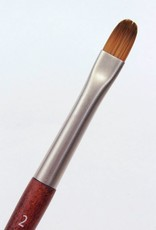 France Raphael, Mini Precision Filbert, Size 2, Watercolor Brush