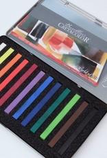 Austria Cretacolor, Pastel Carre Sticks, Set of 12 Colors