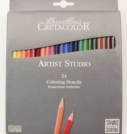 Cretacolor, Artist Studio Color Pencils, 24 Pencil Set