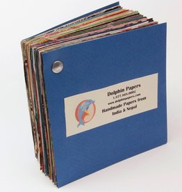 India Handmade Papers from India & Nepal, Sample Book
