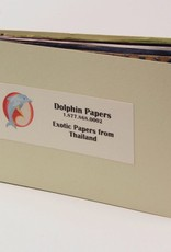 Dolphin Exotic Papers from Thailand, Sample Book