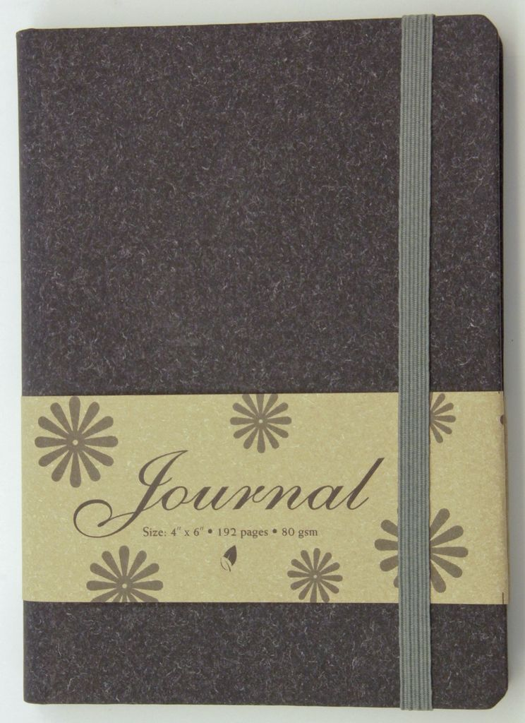 "India Journal with Black Cover, 4"" x 6"""