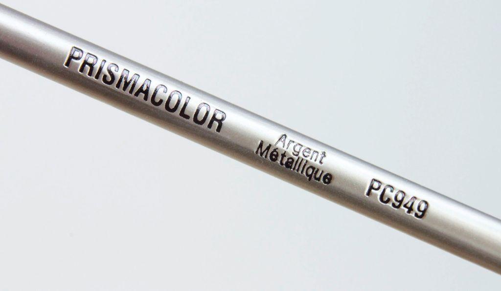 Prisma Color Pencil, 949: Metalic Silver