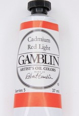 Domestic Gamblin Oil Paint, Cadmium Red Light, Series 5, Tube 37ml<br /> List Price: 29.95