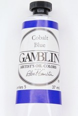 Domestic Gamblin Oil Paint, Cobalt Blue, Series 5, Tube 37ml<br /> List Price: 29.95