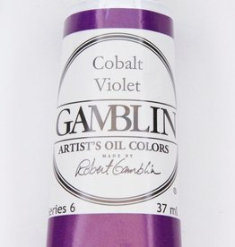 Domestic Gamblin Oil Paint, Cobalt Violet, Series 6, Tube 37ml<br /> List Price: 34.95