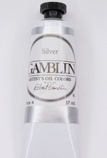 Domestic Gamblin Oil Paint, Silver, Series 4, Tube 37ml<br /> List Price: 24.95