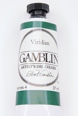 Domestic Gamblin Oil Paint, Viridian, Series 4, Tube 37ml<br /> List Price: 24.95
