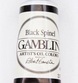Domestic Gamblin Oil Paint, Black Spinel, Series 4, Tube 37ml<br /> List Price: 24.95