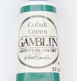 Domestic Gamblin Oil Paint, Cobalt Green, Series 4, Tube 37ml<br /> List Price: 24.95