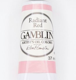 Domestic Gamblin Oil Paint, Radiant Red, Series 2, Tube 37ml<br /> List Price: 12.95