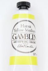 Domestic Gamblin Oil Paint, Hansa Yellow Medium, Series 3, Tube 37ml<br /> List Price: 17.95