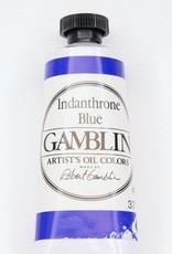 Domestic Gamblin Oil Paint, Indanthrone Blue, Series 3, Tube 37ml<br /> List Price: 17.95