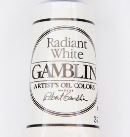 Domestic Gamblin Oil Paint, Radiant White, Series 2, Tube 37ml<br /> List Price: 12.95