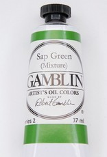 Domestic Gamblin Oil Paint, Sap Green (mixture) Series 2, Tube 37ml<br /> List Price: 12.95