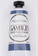 Domestic Gamblin Oil Paint, Payne's Grey, Series 2, Tube 37ml<br /> List Price: 12.95