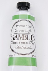 Domestic Gamblin Oil Paint, Permanent Green Light, Series 2, Tube 37ml<br /> List Price: 12.95