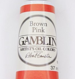 Domestic Gamblin Oil Paint, Brown Pink, Series 2, Tube 37ml<br /> List Price: 12.95