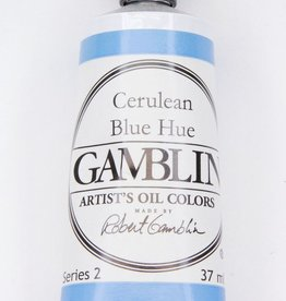 Domestic Gamblin Oil Paint, Cerulean Blue Hue, Series 2, Tube 37ml<br /> List Price: 12.95