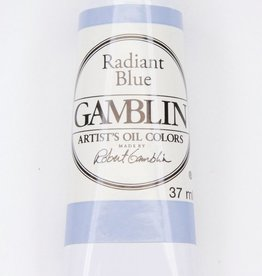Domestic Gamblin Oil Paint, Radiant Blue, Series 2, Tube 37ml<br /> List Price: 12.95