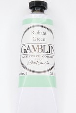Domestic Gamblin Oil Paint, Radiant Green, Series 2, Tube 37ml<br /> List Price: 12.95