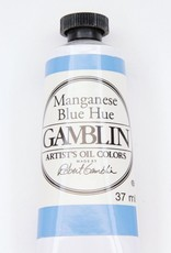 Domestic Gamblin Oil Paint, Manganese Blue Hue, Series 2, Tube 37ml<br /> List Price: 12.95