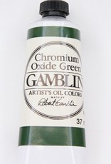 Domestic Gamblin Oil Paint, Chromium Oxide Green, Series 3, Tube 37ml<br /> List Price: 17.95
