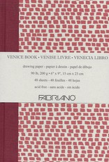 "Fabriano, Venice Art Book, Drawing Paper, 90#/200gsm, 48 sheets, 6"" x 9"""