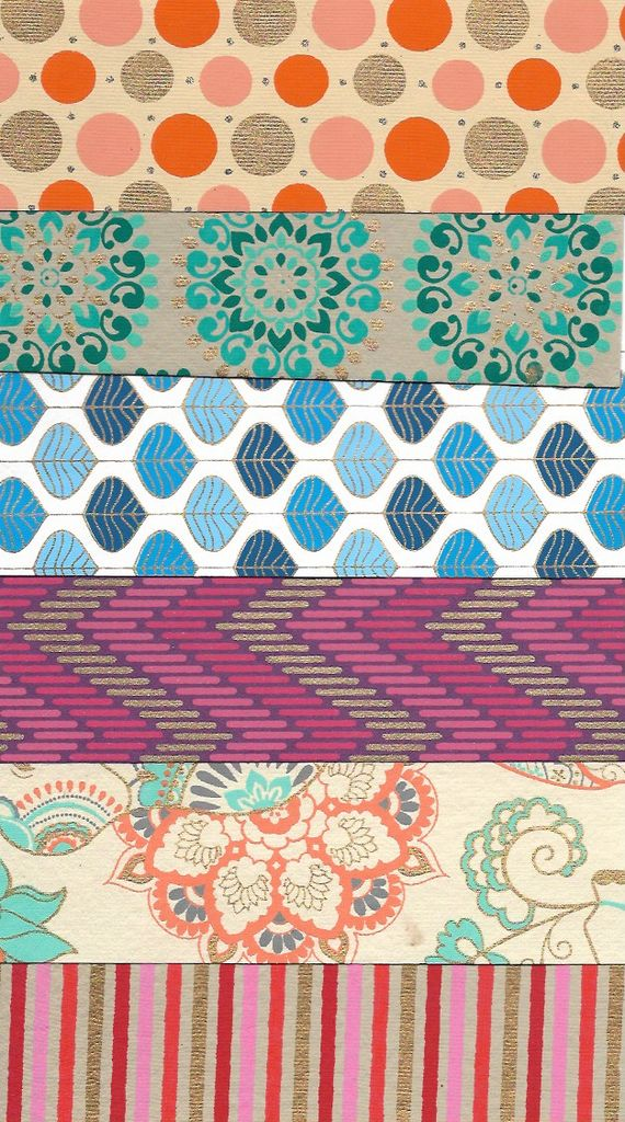 "Indian Decorative Paper Pack, 8.5"" x 11"" 20 Sheets, Each sheet is a different and unique Indian Design Paper (paper will vary per pack)"