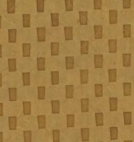 "Nepal Lokta Bricks on Gold, 20"" x 30"" Limited Availability"