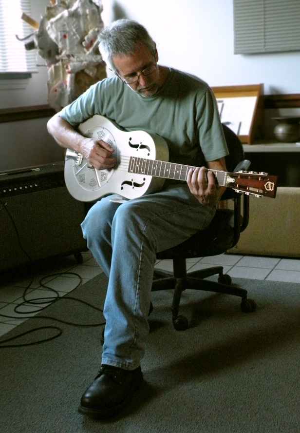 Ed Funk playing Guitar