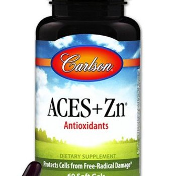 Carlson Laboratories Aces + Zn 60 count