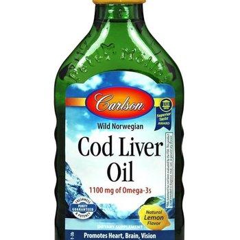 Carlson Laboratories Cod Liver Oil 250mL