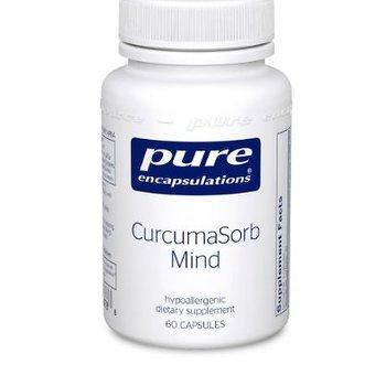 Pure Encapsulations Curcumasorb Mind 60c