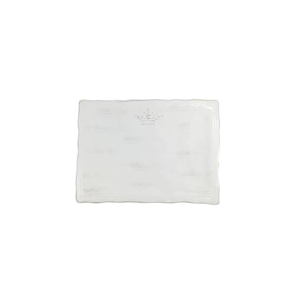 Crown Platter White SM