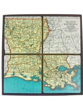 Louisiana Coaster Set