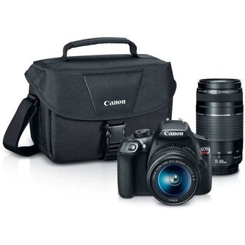 Canon EOS Rebel T6 18-55mm + 75-300mm Kit