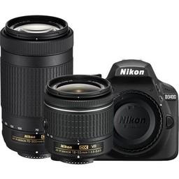 Nikon Nikon D3400 18-55 VR + 70-300 Kit (Black) #1573