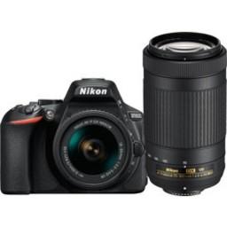 Nikon Nikon D5600 18-55 VR + 70-300 Kit (Black) #1580
