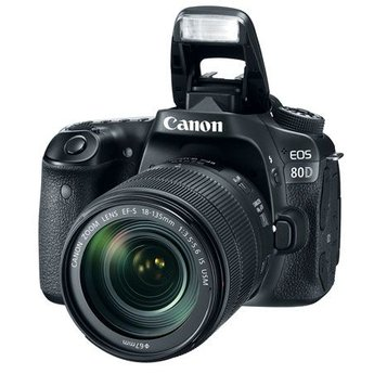 Canon EOS 80D w/18-135mm IS USM Kit