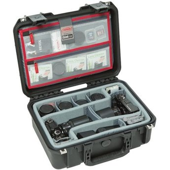SKB iSeries 3i-1510-6 Case w/ Think Tank Dividers & Lid Organizer