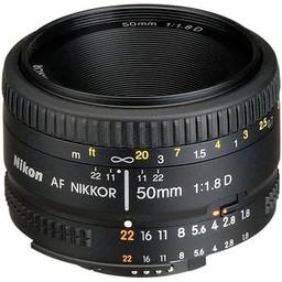 Used Nikon 50mm 1.8D