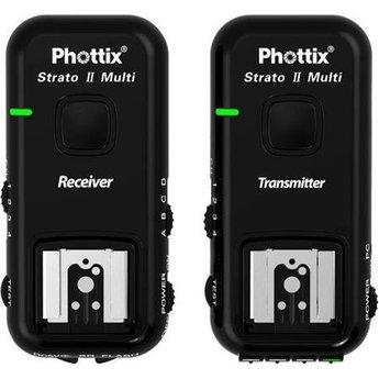 Phottix Strato II Multi 2.4 GHz Wireless 5 in 1 Trigger Set (Nikon)