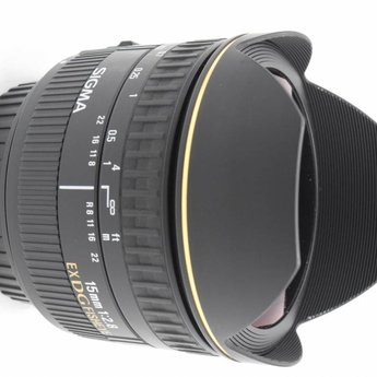 Sigma 15mm f/2.8 Fisheye EF mount