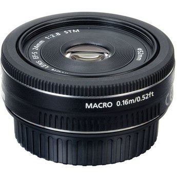 Used Canon 24mm f/2.8 EF-S STM Lens