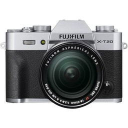 Fujifilm Fuji X-T20 18-55mm Kit (Silver)