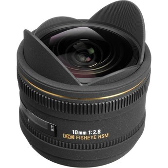 Used Sigma 10mm 2.8 DC HSM Fisheye (Nikon)